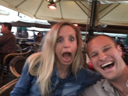Coincidentally reunion in A'dam, surfbud Nick!